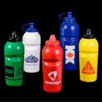 Image of Bottles on Homepage for Drinkware