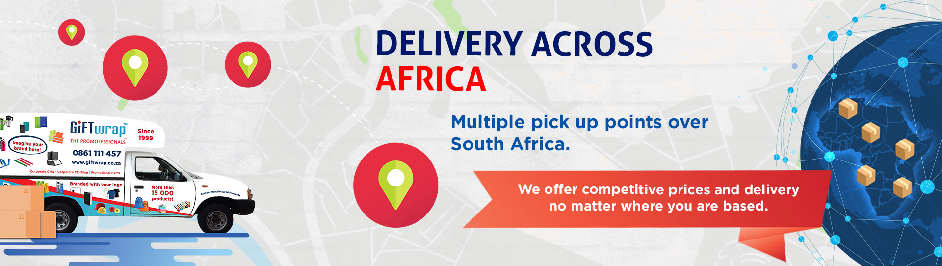 Delivery across Africa