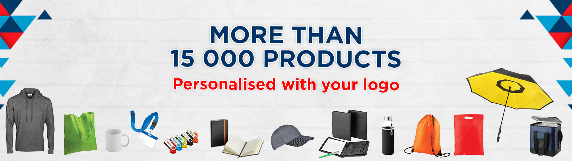 More than 15000 products